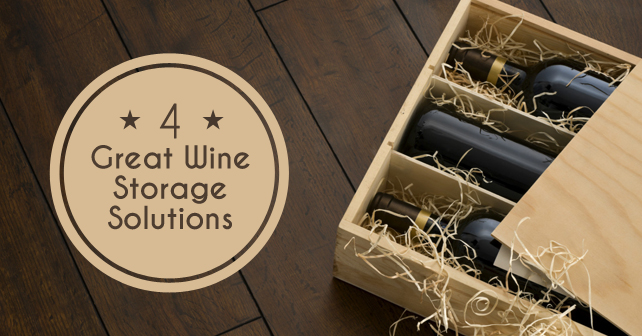 4 Great Wine Storage Solutions