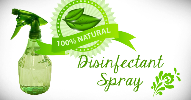 Natural Disinfectant Spray