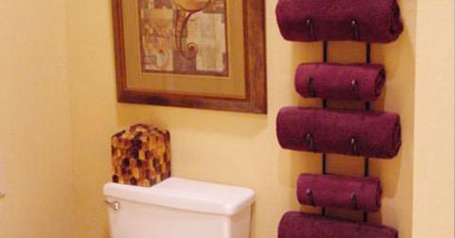 Towel Storage Ideas 4