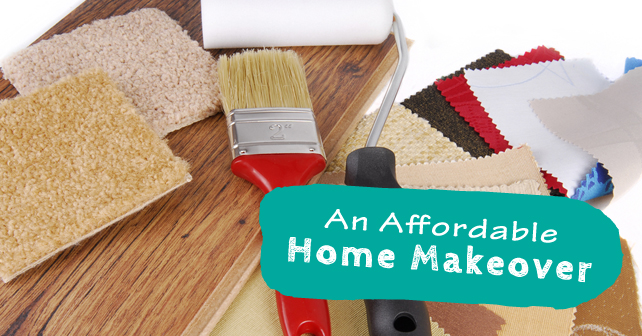 An Affordable Home Makeover