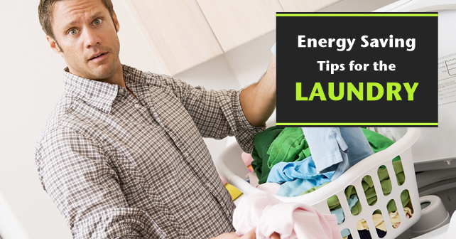 Energy Saving Tips for the Laundry