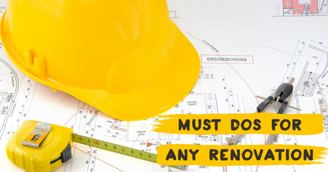 Must Dos for Any Renovation 2