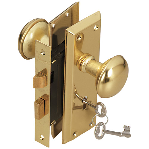 10 different types of locks and door knobs love my house for Door handle with lock